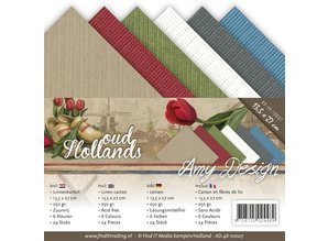 Amy Design cartone Lino 13,5x27 cm, colori estivi,