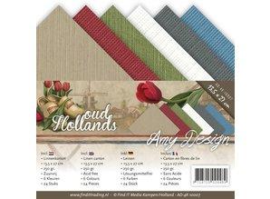 Amy Design Ropa de cartón 13,5x27 cm, colores del verano,