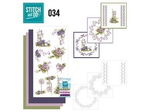 Komplett Sets / Kits Stitch and Thu 34, Field flowers