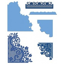 NEW: punching and embossing stencils Heartfelt