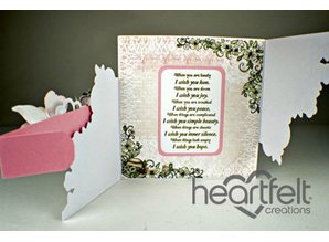 Heartfelt Creations aus USA NEW: punching and embossing stencils Heartfelt