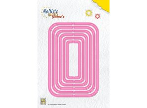 Nellie snellen Punching and embossing template: Multi Template Rectangles