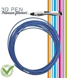 BASTELZUBEHÖR / CRAFT ACCESSORIES 3D-Pen Filament, 5M, himmelsblau
