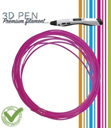 BASTELZUBEHÖR / CRAFT ACCESSORIES 3D Pen filament, 5M, pink