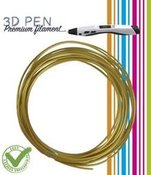BASTELZUBEHÖR / CRAFT ACCESSORIES 3D-Pen Filament, 5M, gold/gelb