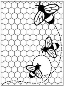 embossing Präge Folder Embossing Folder: Themes Bee