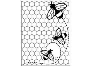 embossing Präge Folder Embossing Folder: Themes Bee
