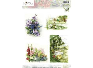 Studio Light A4 broadsheet, theme: gardening and flowers