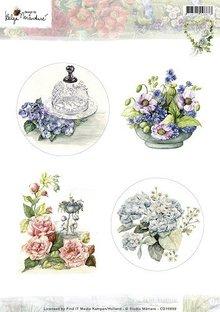 Studio Light A4 broadsheet, tema: havearbejde og blomster