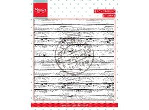 Marianne Design Stamp, background wood