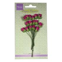 Rosen-knospe medium pink