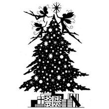 Stempel / Stamp: Transparent I timbri trasparenti: elfo di Natale