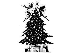 Stempel / Stamp: Transparent Gennemsigtige frimærker: jul elf