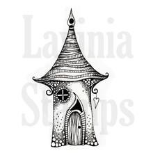 Stempel / Stamp: Transparent timbro trasparente: Elfe Casa