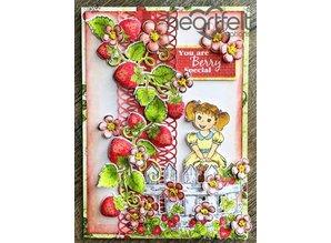 "Heartfelt Creations aus USA NYHED: Complete ""Berry Cafe"" Kollektion: 10 ARTIKEL!"
