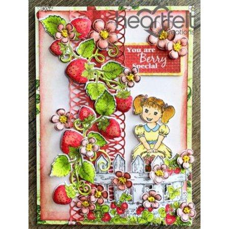 """Heartfelt Creations aus USA NEU: Komplettes """"Berry Cafe"""" Collection: 10 ARTIKEL!"""