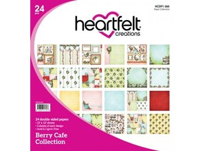 "Heartfelt Creations aus USA NEW: Complete ""Berry Cafe"" Collection: 10 ARTICLE!"