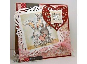 Crafters Company: BeBunni Stempel Gummi stempel, BeBunni Tema: Kærlighed