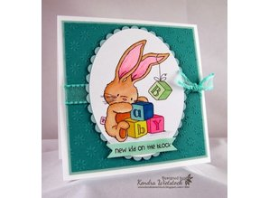 Crafters Company: BeBunni Stempel Rubber stamp, BeBunni Theme: Baby