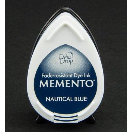 FARBE / INK / CHALKS ... MEMENTO DewDrops Stempeltinte, InkPad-Nautical Blue
