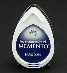 FARBE / INK / CHALKS ... MEMENTO dewdrops stamp ink InkPad-Paris Dusk