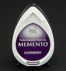 FARBE / INK / CHALKS ... MEMENTO DewDrops Stempeltinte, InkPad-Elderberry
