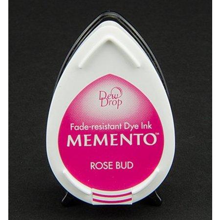 FARBE / INK / CHALKS ... las gotas de rocío MEMENTO sello de tinta InkPad Rose Bud