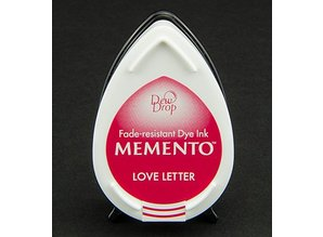 FARBE / INK / CHALKS ... MEMENTO dewdrops stamp ink InkPad-Love Letter