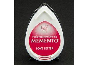FARBE / INK / CHALKS ... Memento dugdråber stempel blæk InkPad-Love Letter