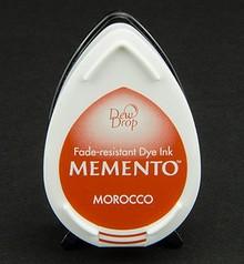 FARBE / INK / CHALKS ... gocce di rugiada MEMENTO timbro a inchiostro InkPad-Marocco