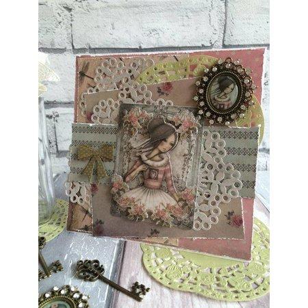 Embellishments / Verzierungen Adornos: llave, Santoro Mirabelle