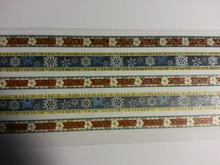 Sticker Glitter Fabric Trims adhesive