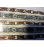 Sticker Glitter Stoffbordüren selbstklebend