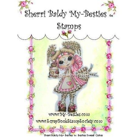 """My BESTIES My-Besties """"Sherri Baldy"""" gennemsigtige frimærker"""