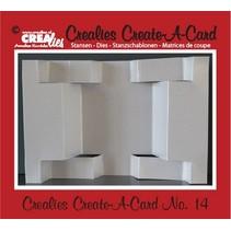 Crealies Create A Card no. 14 Stanz für Karte