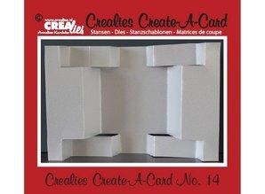 Crealies und CraftEmotions Crealies creare una scheda n. 14 per la carta di pugno