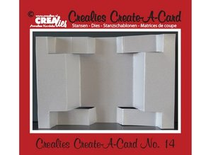 Crealies und CraftEmotions Crealies Create A Card no. 14 for punch card