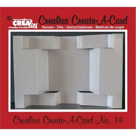 Crealies und CraftEmotions Crealies Create A Card no. 14 Stanz für Karte