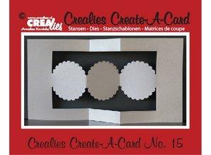 Crealies und CraftEmotions Crealies creare una scheda n. 15 per la carta di pugno