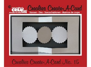 Crealies und CraftEmotions Crealies Create A Card no. 15 for punch card