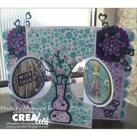 Crealies und CraftEmotions Crealies Create A Card no. 21 Stanz für Karte