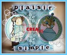 Crealies und CraftEmotions Crealies creare una scheda n. 21 per la carta di pugno