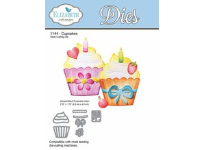 Elisabeth Craft Dies Stanz- und Prägeschablone: Cupcakes