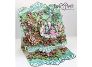 Heartfelt Creations aus USA 1 stempel sæt + matchende stempling og prægning stencil