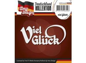 Amy Design Punzonatura e goffratura modelli: Versione tedesca: Buona fortuna