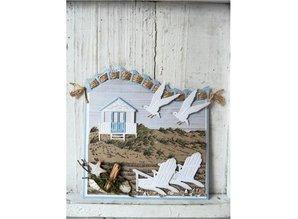 Marianne Design Transparent stamp: beach / dunes