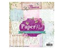 Studio Light Paper pad, Beautiful Flowers Theme