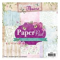 Paper pad, Beautiful Flowers Theme