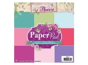 Studio Light Paper pad, Beautiful Flowers