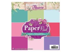 Studio Light Papir pad, smukke blomster